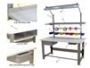 1,000 LB. CAPACITY ROOSEVELT SERIES WORKBENCHES - WITH HEAVY FORMICA™ LAMINATE TOP