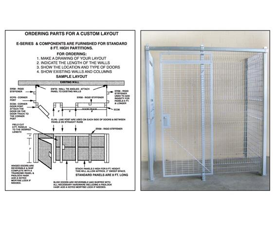 PRE-ENGINEERED WIRE CAGES