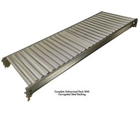 CORRUGATED STEEL DECKING