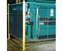 WIRE MESH GUARDING SYSTEM